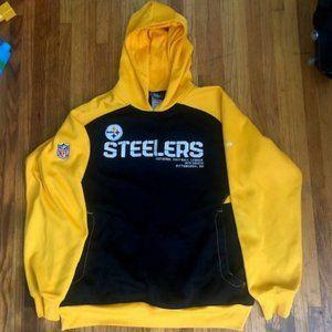 Reebok NFL on Field Pittsburgh Steelers Hoodie